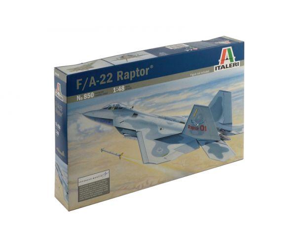 Italeri 0850 1:48 F-22 Raptor