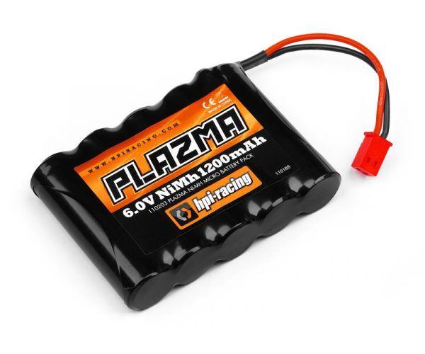 HPI 110203 Plazma 6.0V 1200mAh Ni-mH akkupack