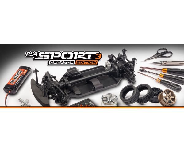 HPI RS4 Sport3 Creator Edition