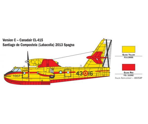 1362 Italeri Canadair CL-415 Tűzoltó repülő 1/72