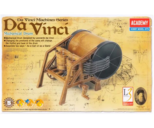 academy-18138-davinci-mechanical-drum