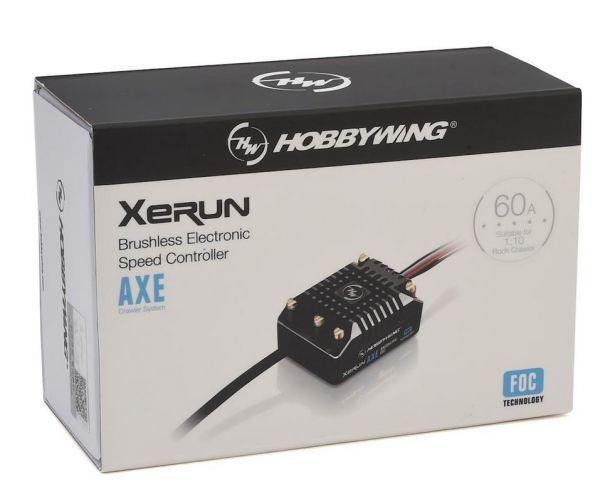 Hobbywing Xerun AXE FOC Vízálló Brushless szabályzó