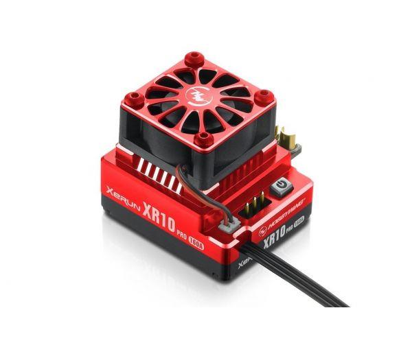 Hobbywing XERUN XR10 Pro autós szabályzó - Piros