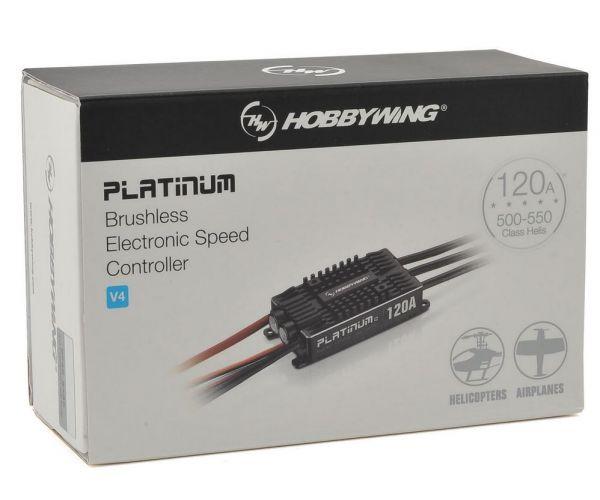 Hobbywing Platinum Pro 120A V4 Repülős, helis ESC