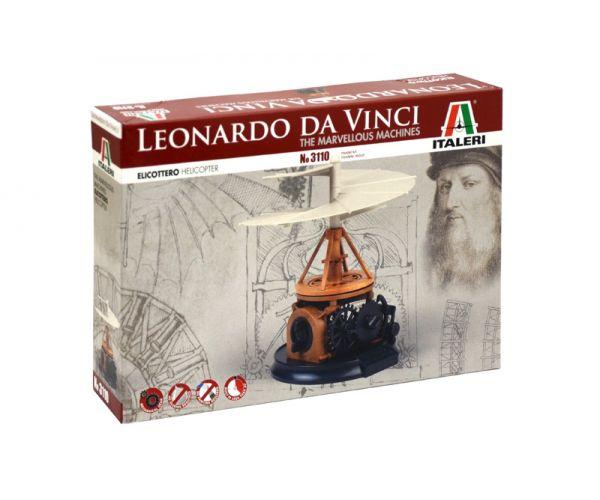 3110 Italeri DA VINCI Helikopter Easy Kit