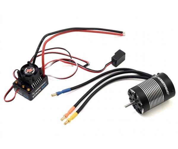 Hobbywing EZRun MAX10 Sensorless Brushless ESC Szabályzó / 3652SL Motor Combo (4000kV)