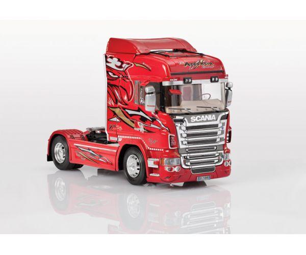 Italeri 3882 SCANIA R560 V8 HIGHLINE RED GRIFFIN