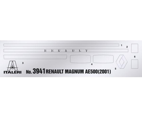 3941S ITALERI Renault AE500 Magnum (2001) 1/24