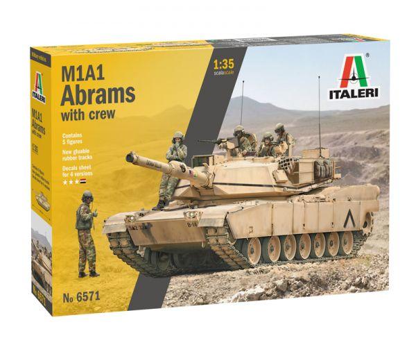 6571S ITALERI M1 A2 Abrams gyalogsággal