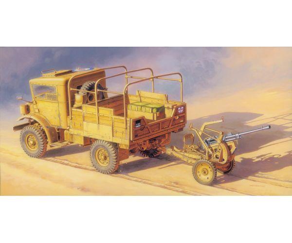 ITALERI 6505 15 CWT truck with Breda 20/65