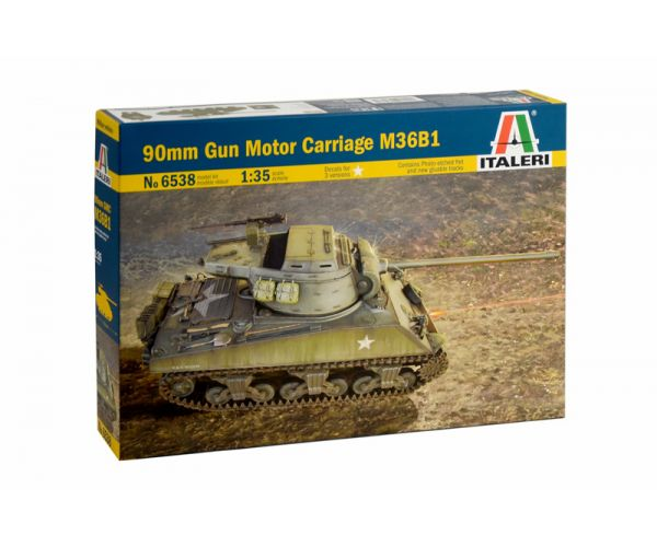 Italeri 6538 90mm GUN MOTOR CARRIAGE M36B1