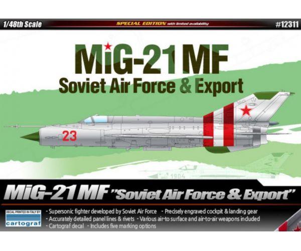 Academy 12311 Mig-21MF repülőmakett