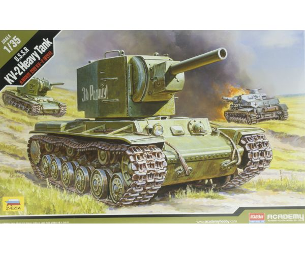 Academy USSR KV-2 heavy tank