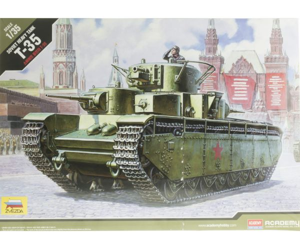 Academy Soviet heavy tank T-35