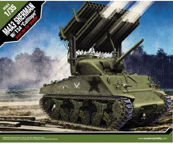 Academy M4A3 Sherman W/T34 Calliope