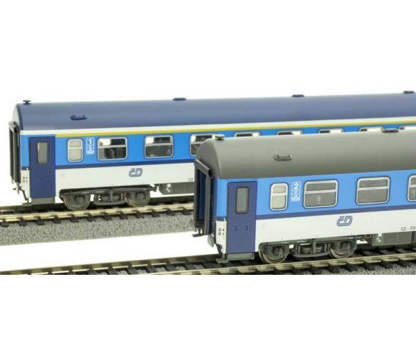 ACME 55192 Személykocsi szett 1.o. és 2.o. (Apee/Bpee), Y-típus, CD V-VI, Najbrt-festés