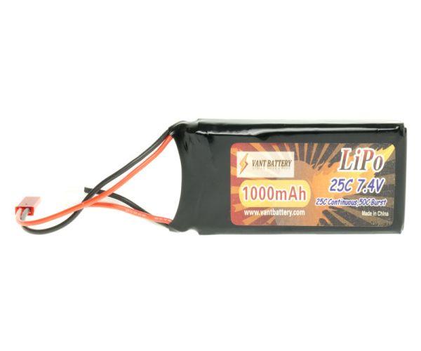 Akku LiPo 7,4V 1000mAh 25C