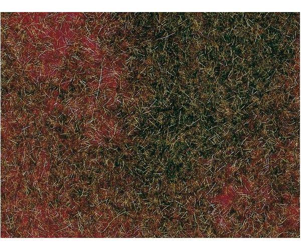 Auhagen 75115 Mező lap, vöröseszöld, 50 x 35 cm