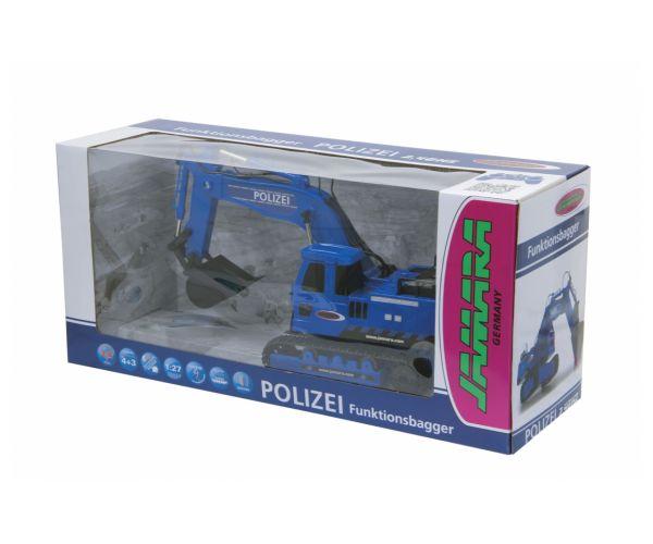 JAMARA 410019 Távirányítós rendőrségi markoló 2,4GHz
