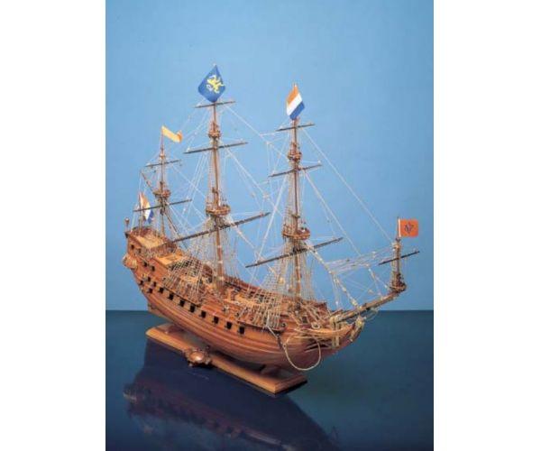 Corel Prins Willem 1/100 fahajó makett