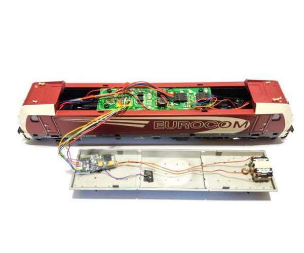 Digisound 3.1 TRAXX Hangdekóder hangszóróval TRAXX villanymozdonyhoz