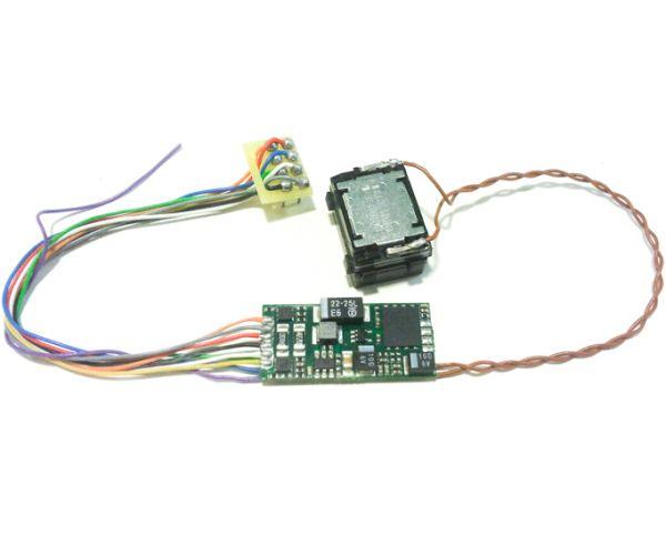 DIGISOUND2.1-M62 Hangdekóder hangszóróval M62 Szergej dízelmozdonyhoz