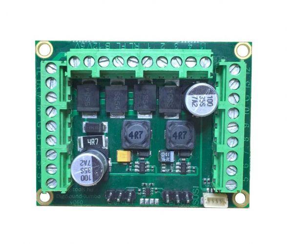 Digitools DigiSound-Jumbo 2.0 Taurus Hangdekóder Taurus villanymozdonyhoz