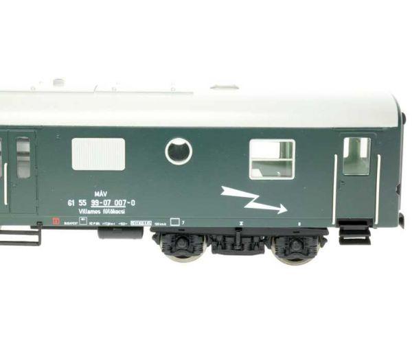Digitools VFK-DIGIT villamos fűtőkocsi (Rezsó), MÁV III, hangdekóderrel