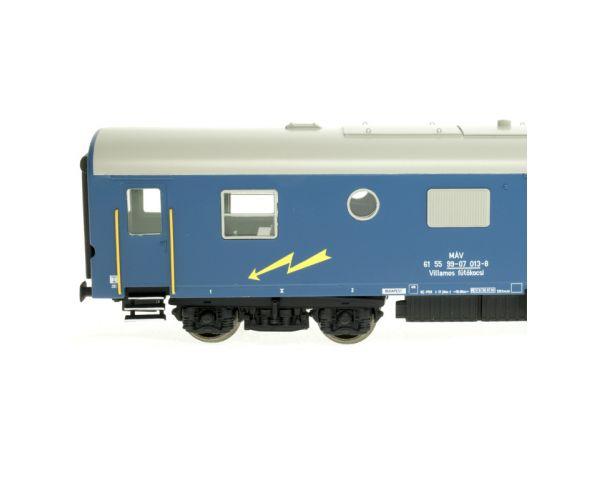 Digitools villamos fűtőkocsi (Rezsó) 013-8, MÁV IV, hangdekóderrel