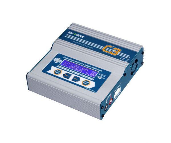 EV-PEAK C3 Univerzális töltő (220V / 12V, 6A, 50W)