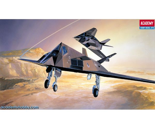 Academy F-117A STEALTH FIGHTER/BOMBER