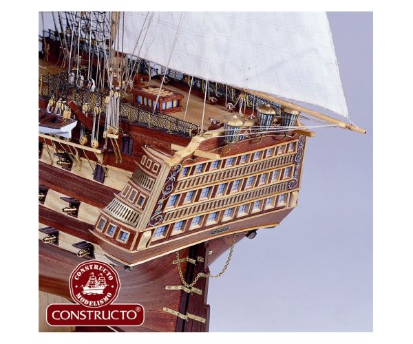 Constructo 80833 HMS Victory vitorlás, fa hajómakett
