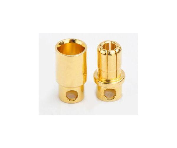 8.0mm-es bullet csatlakozó 1 pár