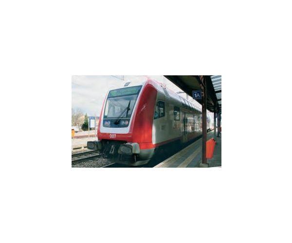 Fleischmann 862084 emeletes-vezérlőkocsi 2.o. CFL