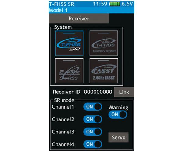 Futaba 7 PX 2.4GHz RC távirányító