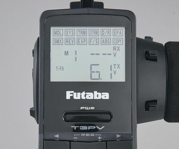 Futaba 3PV 203GF 2,4GHz távirányító