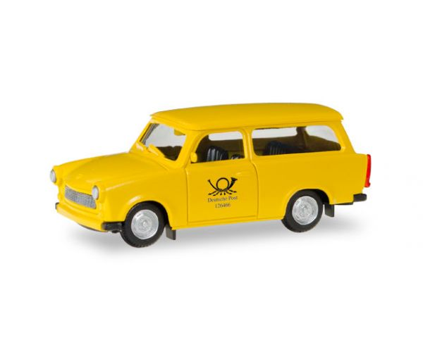 herpa 093095 trabant 601 kombi deutsche post. Black Bedroom Furniture Sets. Home Design Ideas