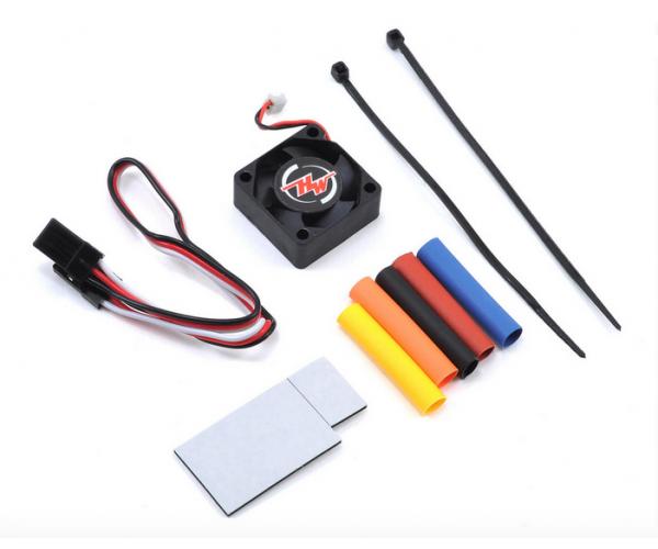 Hobbywing XERUN XR10 Pro autós szabályzó - Fekete