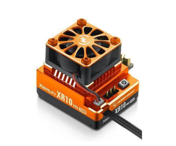 Hobbywing XERUN XR10 Pro autós szabályzó - Narancssárga