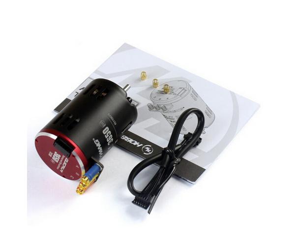 Hobbywing QuicRun 3650SD - 10.5T Black G2 brushless motor 1/10-es autómodellekbe
