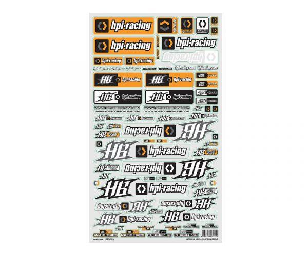 raktáron elég jó legolcsóbb ár HPI 107103 HB HPI TEAM DECAL - Katalógus, kiadvány - RC autó