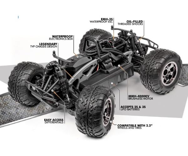 HPI 115125 SAVAGE XS FLUX