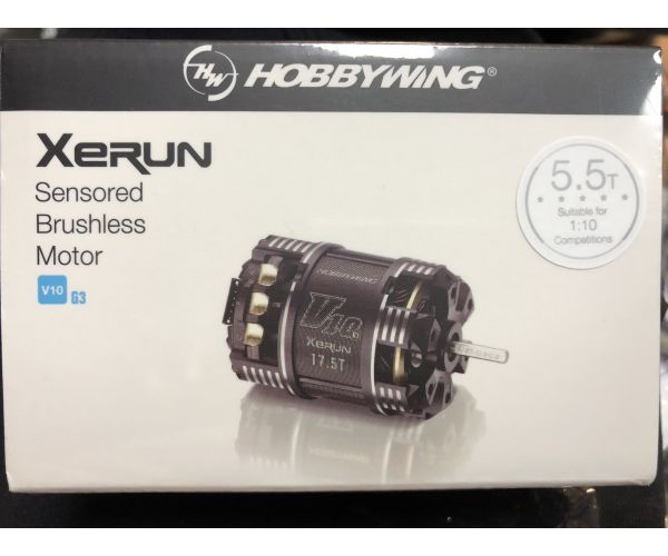 Hobbywing Xerun V10 G3  (5.5T) brushless modified motor