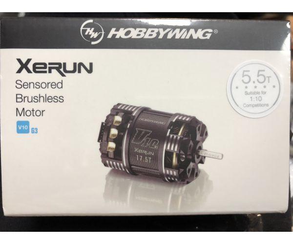 Hobbywing Xerun V10 G3  (5.5T) brushless modified motor