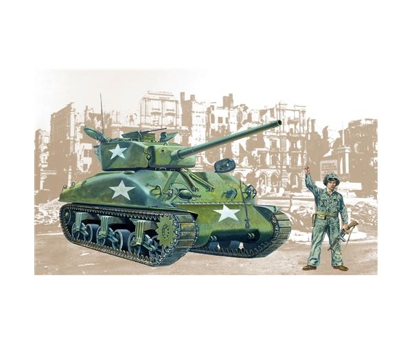 Italeri 225 Sherman M4-A1