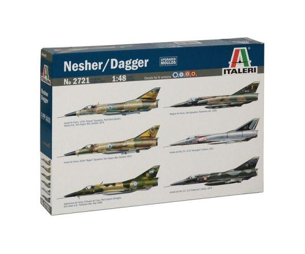 ITALERI 2721 Nesher/ Dagger