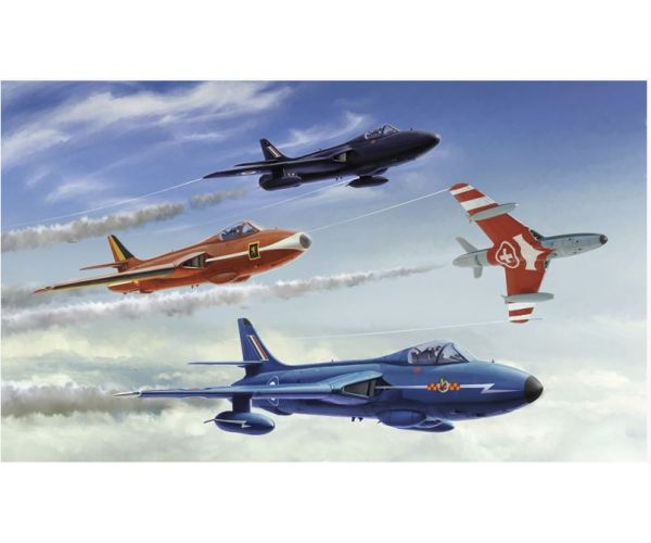 Italeri 2772 HUNTER F.6 / FGA.9