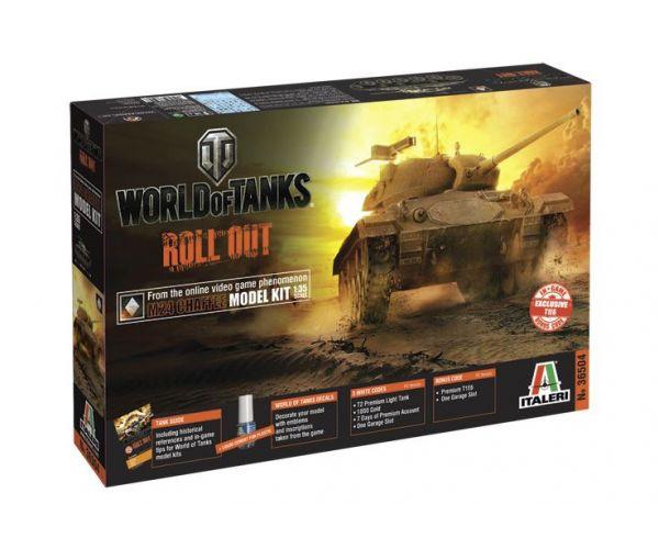 Italeri 36504 M24 CHAFFEE World of tanks