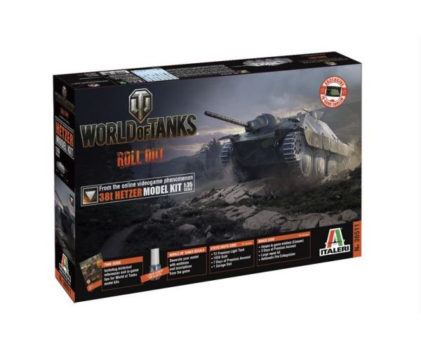 Italeri 36511 38t Hetzer World of Tanks