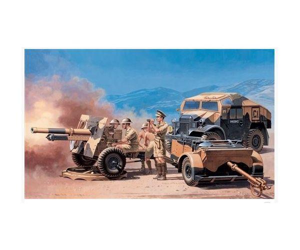 Morris Quad Tractor +25pdr gun